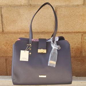 Trina Turk Hobo Hand/ Shoulder Bag Navy Blue